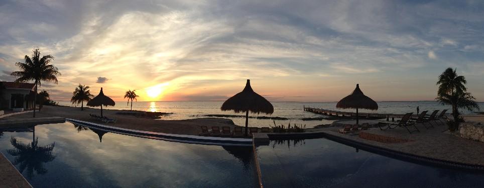 Incredible Sunset at Costa del Sol